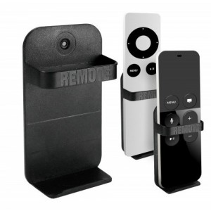 Tuff-Luv A4_72  Wall Mount Holder for Apple TV Remote - Black