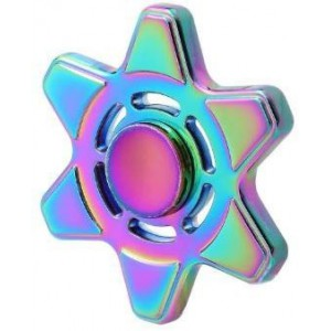 Tuff-Luv H997 Colourize Fidget Spinner with High speed Bearing - Hex Star