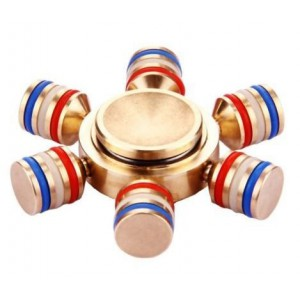 Tuff-Luv G559  Fidget Spinner - Rule Britannia Red/White/Blue