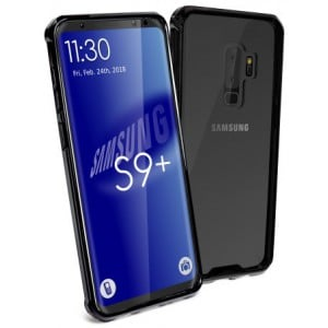 Tuff-Luv H12_76  Shockproof Transparent Armour Protective Back Cover Case for Samsung S9 Plus - Clear