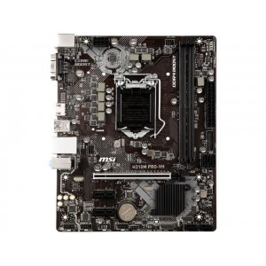 MSI H310M PRO-VH LGA 1151 (300 Series) Intel H310 HDMI SATA 6Gb/s Micro ATX Intel Motherboard