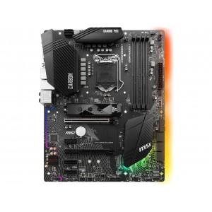 MSI H370GAMEPROCARB LGA 1151 (300 Series) Intel H370 HDMI SATA 6Gb/s ATX Intel Motherboard