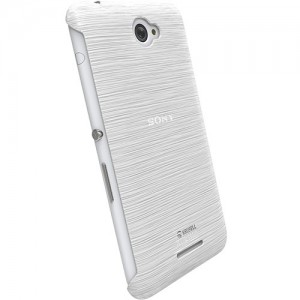 Krusell 90063 Boden Cover for the Sony Xperia E4/E4 Dual - Transparent White