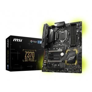 MSI Z370 SLI PLUS LGA 1151 (300 Series) Intel Z370 HDMI SATA 6Gb/s USB 3.1 ATX Intel Motherboard