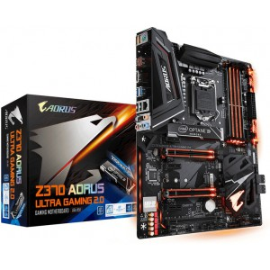 Gigabyte GA-Z370-AORUS-ULTRAGAMING2.0-OP Z370 AORUS ULTRA GAMING 2.0-OP Intel Z370 LGA 1151 (Socket H4) ATX motherboard