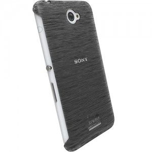 Krusell 90064 Boden Cover for the Sony Xperia E4/E4 Dual - Transparent Black