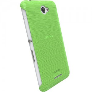 Krusell 90067 Boden Cover for the Sony Xperia E4/E4 Dual - Transparent Green