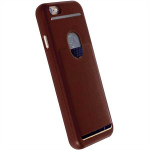 Krusell  60746 Timra Walletcover For the Apple iPhone 7 Plus - Rust