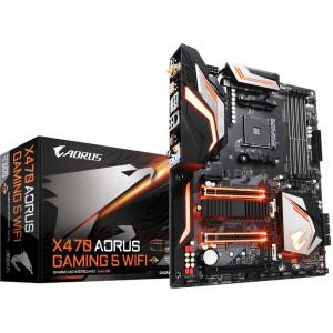 Gigabyte GA-X470-AORUS-GAMING5-WIFI X470 AORUS GAMING 5 WIFI AM4 AMD X470 SATA 6Gb/s USB 3.1 ATX AMD Motherboard