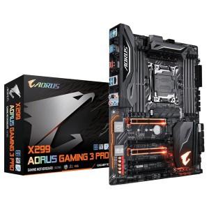 Gigabyte GA-X299-AORUS-GAMING3PRO X299 AORUS Gaming 3 Pro Intel X299 LGA 2066 ATX Motherboard