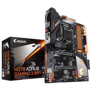 Gigabyte GA-H370-AORUS-GAMING3-WIFI AORUS Gaming 3 WIFI LGA 1151 Intel H370 HDMI SATA 6Gb/s USB 3.1 ATX Intel Motherboard
