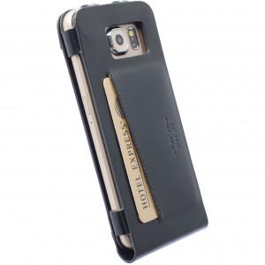 Krusell 76118 Kalmar Wallet Case for the Samsung Galaxy S6/S6 Edge - Black