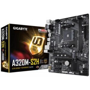 Gigabyte GA-A320M-S2H  AM4 AMD A320 Micro ATX  Motherboard