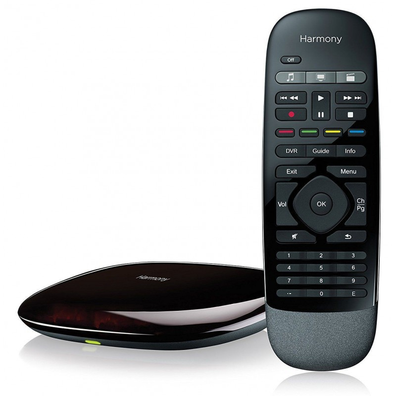 bbc843f3a07 LOGITECH Harmony Smart Home Control with Remote plus Smartphone App - Black  - REFURB