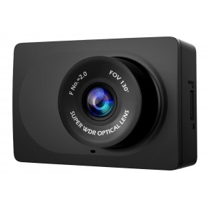 "YI Compact 2.7"" Full HD Dashboard Camera 130° WDR Lens 1080p - Black"