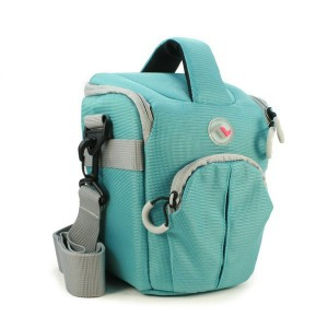 Tuff-Luv A12_36 Expo-1 Compact Water Resistant Top Loader Outdoor Adventure Camera Bag - Turquoise (Medium)