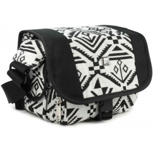 Tuff-Luv M36 Navajo DSLR Digital Compact Camera Case Hipster Material - Black and White