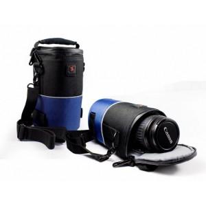 Tuff-Luv H2_31 DSLR Camera Lens Holder - Blue/Black