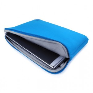 Tuff-Luv A7_73 Cub-Skinz Neoprene Protective Sleeve For 15 inch Notebooks/Ultrabooks (Blue)