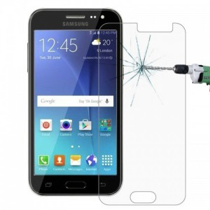 Tuff-Luv K2_33 Tempered Glass For the Samsung Galaxy J2 (Clear)