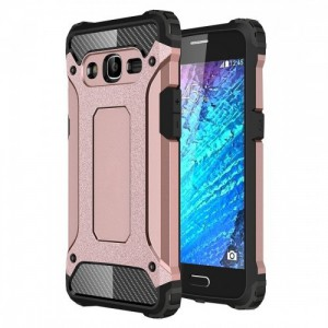 Tuff-Luv  K2_35  Tough Armour Case For the Samsung Galaxy J2 (Rose Gold)