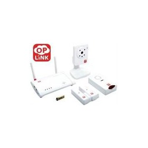 Oplink Connected C1S3 Triple Shield Wireless Security System Wireless Security & Monitoring and Surveillance Solution