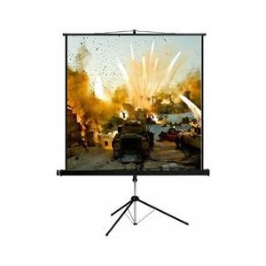 Esquire CSW200 Tripod Projector Screen - Widescreen Format 200x 113