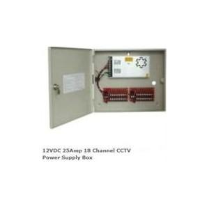 Securnix 12VDC25A18P 12VDC 25Amp 18 Channel CCTV Power Supply