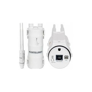 Intellinet 525824 High-Power Wireless AC600 Dual-Band Outdoor Access Point