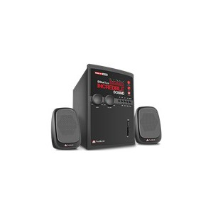 Audionic 6-954217-685625 Max 330 Wireless Bluetooth 2.1 Channel HiFi Speakers