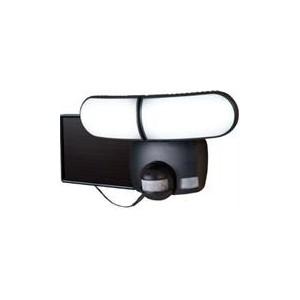 Eaton 180 Degrees Twin Head Motion Sensor Solar LED Floodlight - Black