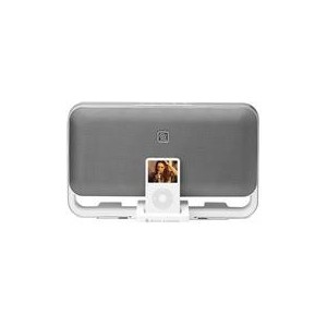 Altec Lansing M602E Speaker System for iPod/MP3 Wall Mountable and Portable-White,