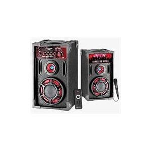Audionic 6-954217-865768 Classic BT165 Wireless Bluetooth 2.0 Channel Hi-Fi Speakers