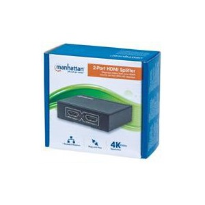 Manhattan 207454 4K 2-Port HDMI Splitter
