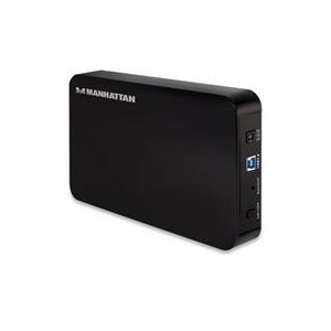 "Manhattan 130295  USB3.0 3.5"" Hard Drive Enclosure"
