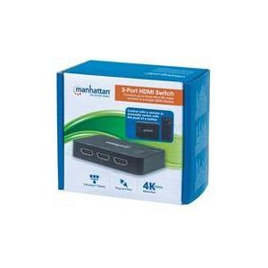 Manhattan 207522 4K 3 Port HDMI Switch