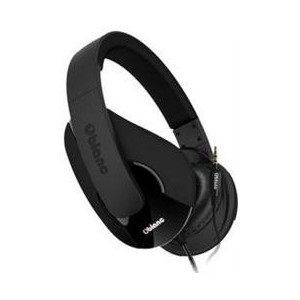 OBlanc NC3-1-BR-TW Shell NC3-1 2.0 Channel Headphones+ In-line Microphone