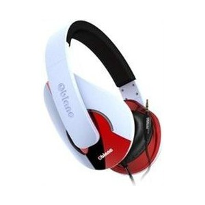 OBlanc NC3-1-W-TW Shell NC3-1 2.0 Channel Headphones+ In-line Microphone
