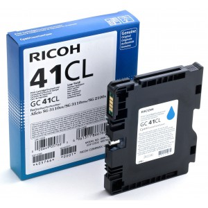 RICOH SG 2100N Cyan Cartridge with yield of 600 pages