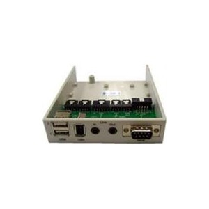 UniQue MP-106 Multimedia Bay 2xUSB Port+1IEEE 1394 Port+Audio In/Out +DB9