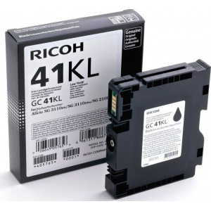 RICOH Ricoh GC41KL Black Cartridge with yield of 600 pages