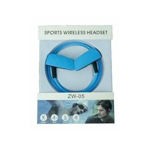 Geeko ZW-05-YLW Wireless Bluetooth Earphones , BT4.2 , Rechargeable Polymer Lithium-on Battery- Yellow