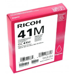 Ricoh GC41M Magenta Cartridge with yield of 2200 pages