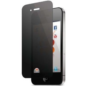 Promate  6161815916413  privMate.i4 High-quality Multi-way Privacy Screen Protector for iPhone 4