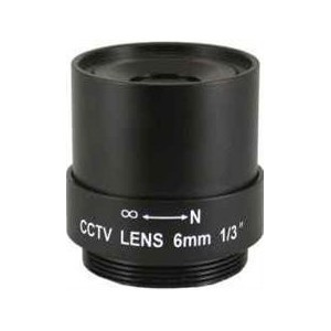 Securnix LF06A Lens 6MM Fixed