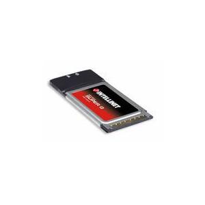 Intellinet 501668 Wireless Super G PC Card 32-Bit PC Card Adapter