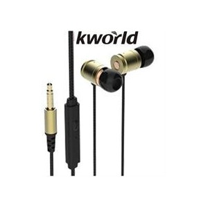 Kworld KW-S25 In-Ear Elite Mobile Gaming Earphones Stereo Silicone Earbuds