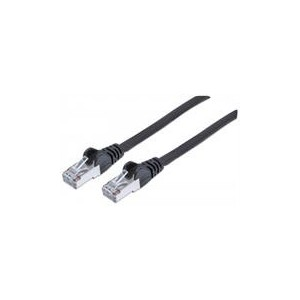 Intellinet 318808 5m CAT6a S/FTP Network Cable - Black
