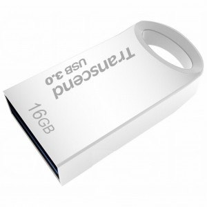 Transcend 16GB JetFlash 710 USB 3.0 Flash Drive - Silver