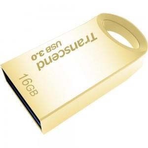 Transcend 16GB JetFlash 710 USB 3.0 Flash Drive - Gold